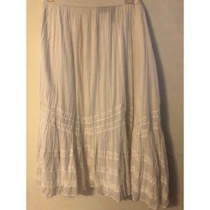 Lane Bryant White Skirt 26/28